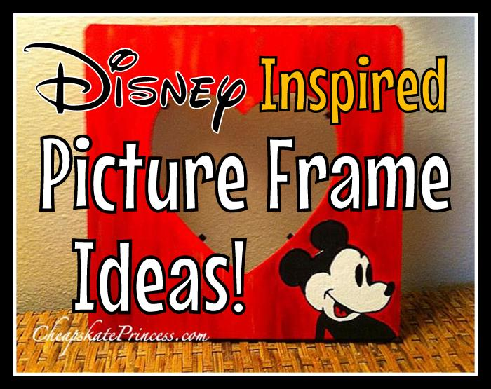 fun Disney World themed crafts