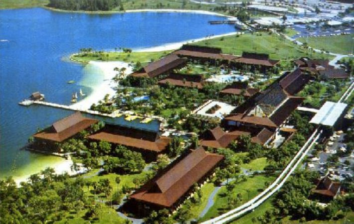 Polynesian Resort vintage photos from 1971