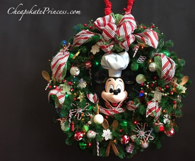 Disney World Chef Mickey's at Christmas