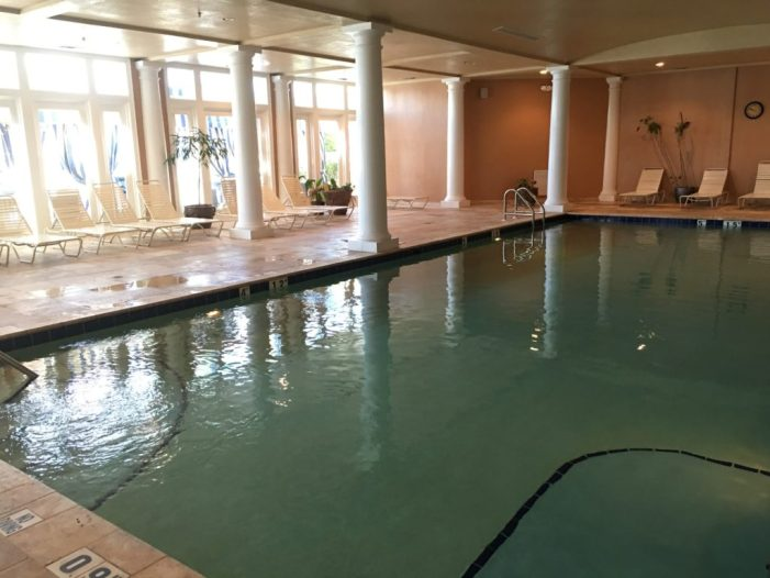 Clubhouse indoor pool at the Gulf Shores Beach Club
