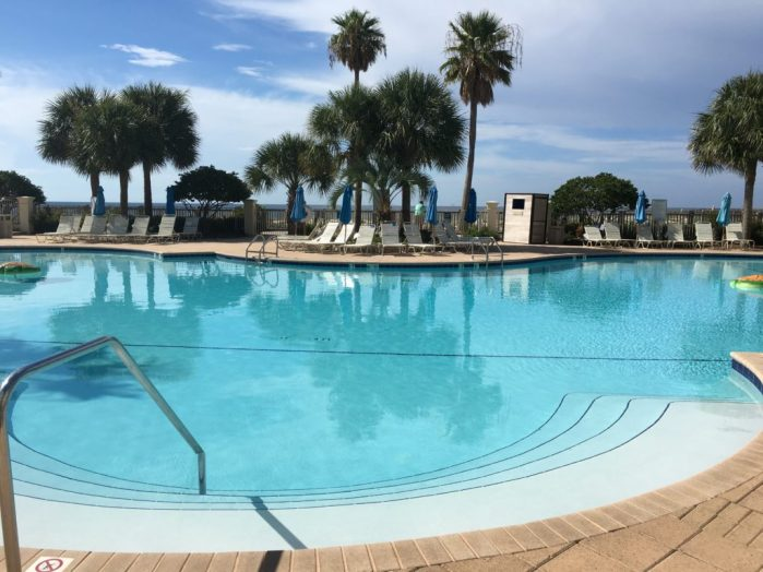 Clubhouse pool at the Gulf Shores Beach Club