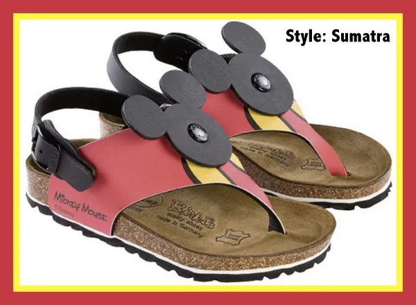 Disney Sumatra Birki's sandals for kids