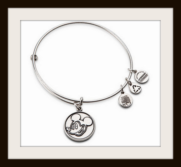 Alex and Ani Mickey Mpouse icon bangle bracelet