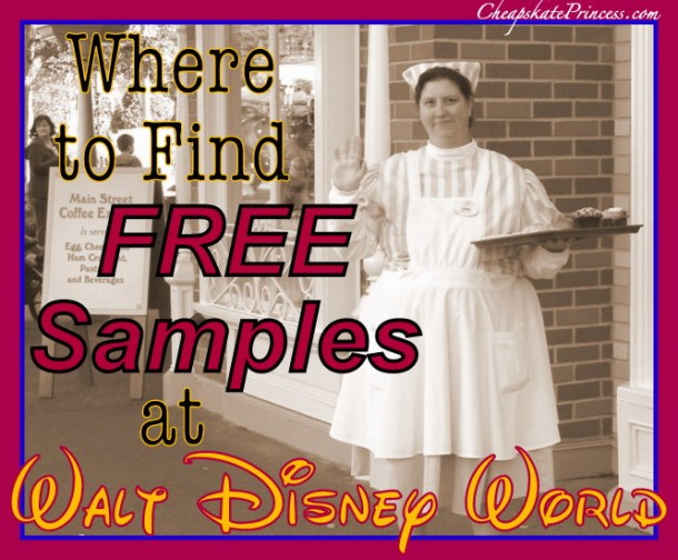 Free fudge samples at Disney World