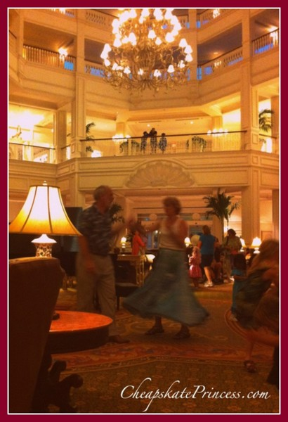 where to dance at the Grand Floridian Resort