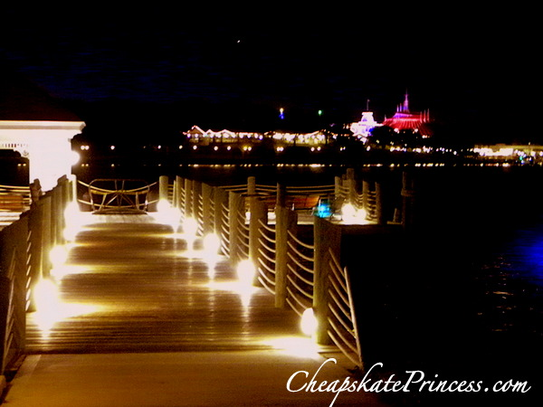 where to view wishes from the Grand Floridian Resort