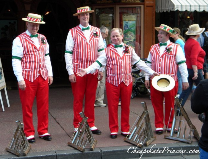 Dapper Dans at Disney World