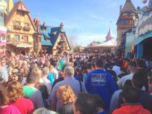 Should you go to Disney World at Christmas, Disney World crowds at Christmas