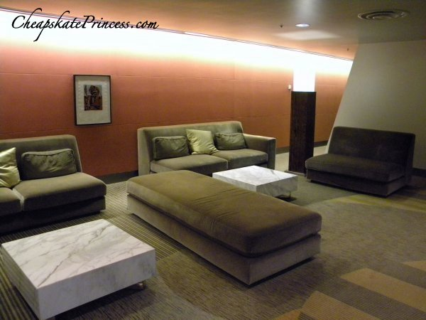 sitting areas at Disney's Contemporary Resort