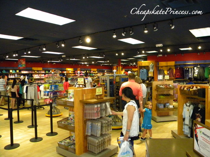 discount Disney World merchandise shopping Orlando