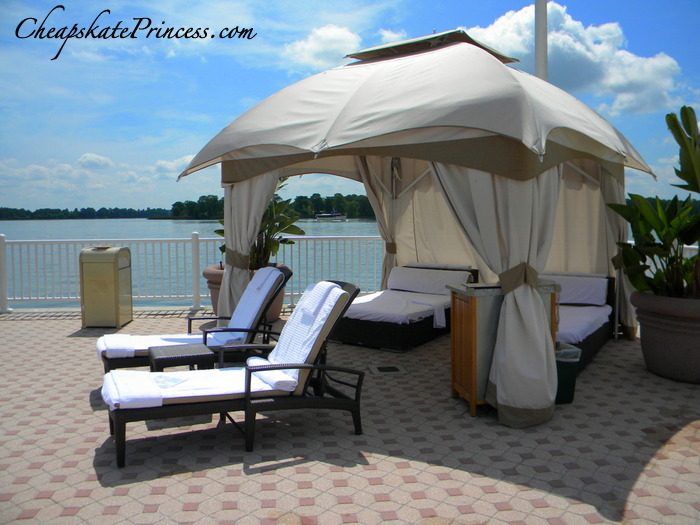 rent a Disney World pool cabana