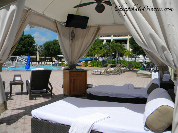 disney princess chair office elbow pads renting a pool cabana at world: cheapskate guide - disney's