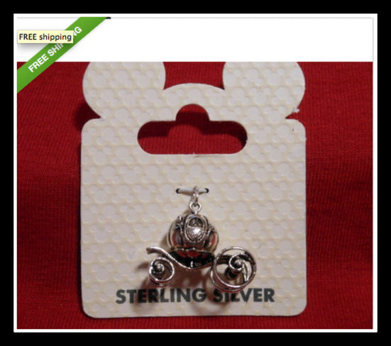 sterling silver Disney charms