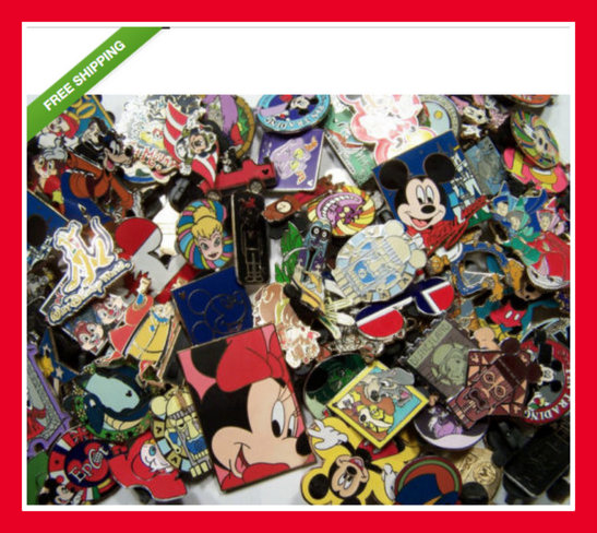 why you shouldn't buy Disney pin lots on ebay