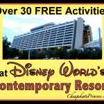 30 Free Activities at Disney's Contemporary Resort: A Cheapskate Princess Guide