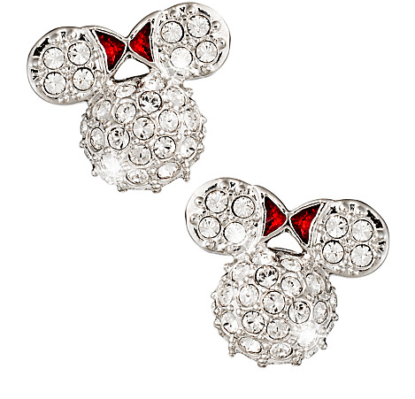 Minnie Mouse Disney World Icon Earrings