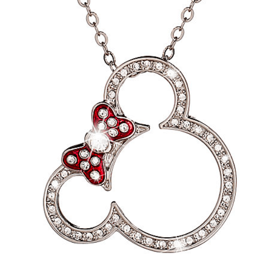 Minnie Mouse Icon Necklace