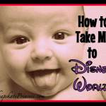 Taking Baby to Disney World: A Cheapskate Princess Guide