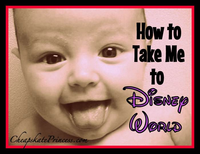 take a baby to Disney World on vacation
