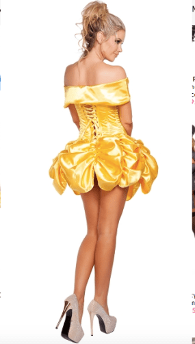 Belle Beauty and the Beast Disney Halloween Costume