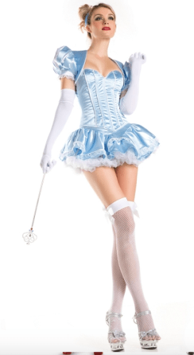 Cinderella too sexy costume Disney adult party