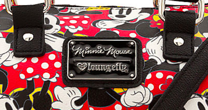 Disney World Minnie Mouse Duffle Crossbody Bag by Loungefly