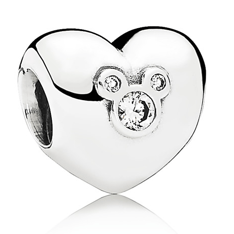 Mickey Mouse ''Heart of Mickey'' Pandora Charm