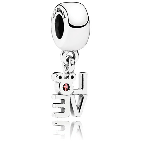 Mickey Mouse ''LOVE Mickey'' Pandora Charm