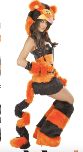 Tigger Halloween Costume for adults