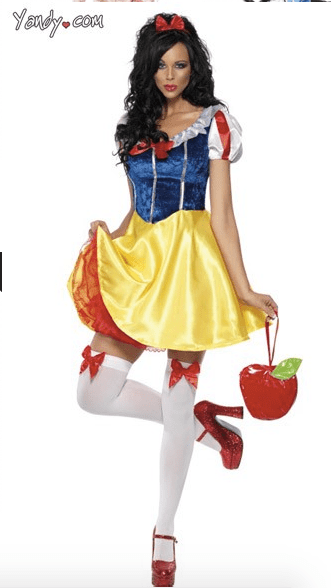 sexy snow white Disney costume