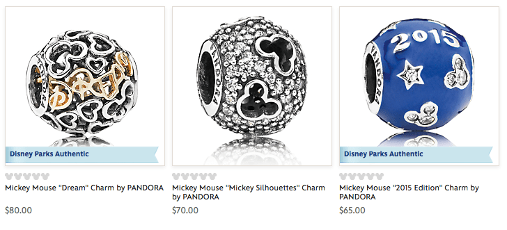 where to buy Mickey Mouse Pandora Disney jewelry