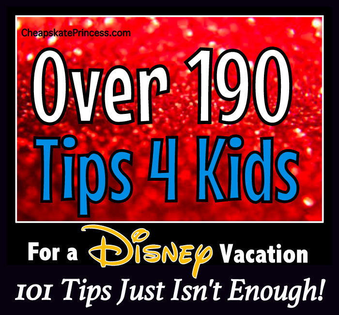 Disney Mom tips for vacation