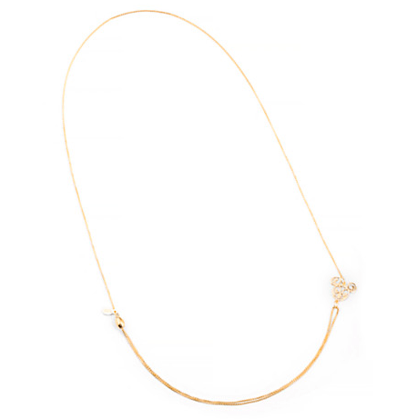 Alex and Ani Mickey Filigree Pull Chain Necklace