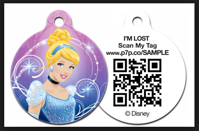 Disney jewelry pet ID tags