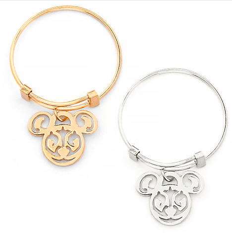 Mickey Filigree Expandable Ring Alex and Ani