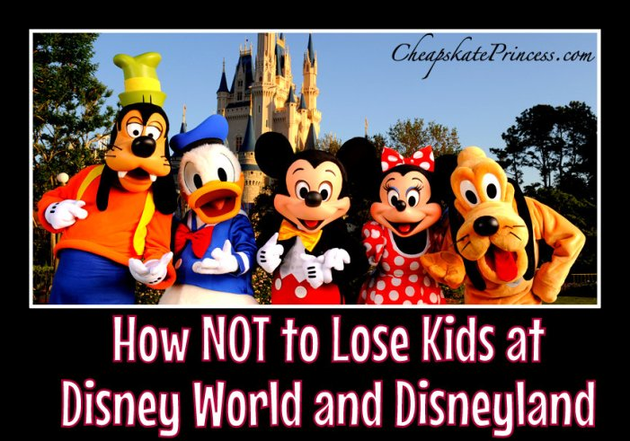 help finding kids at Disney parks