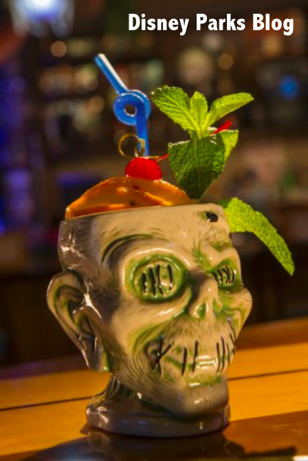 non alcoholic drinks at Disney World Trader Sam's