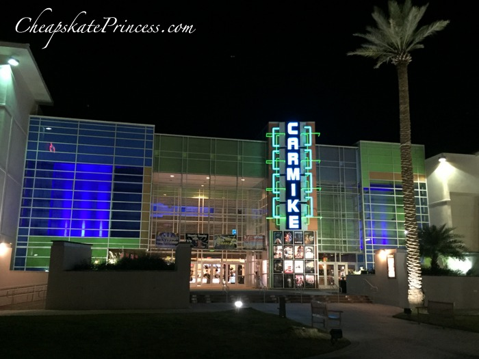 The Wharf movie theater