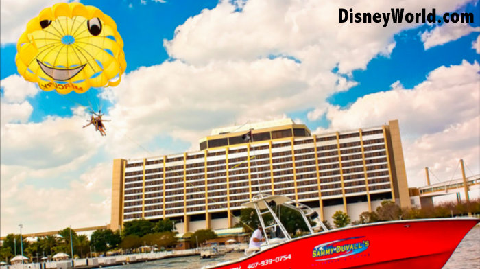 Disney World parsailing information and prices