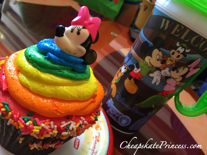 Gay Days Disney World cupcake