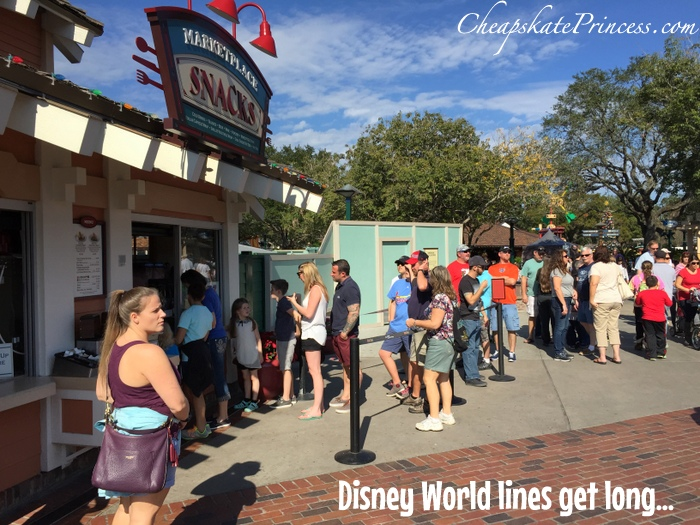 avoiding long likes at Disney parks and resorts