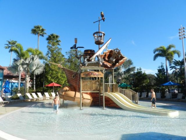 children's splash area caribbean beach resort