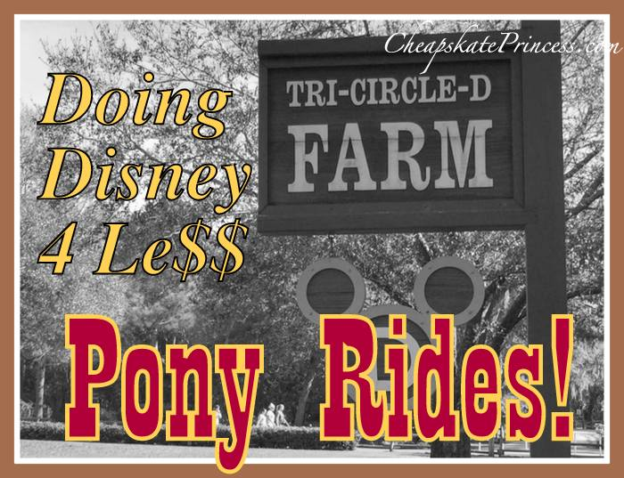 Tri-Circle D ranch pony ride tips