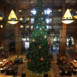 Christmas at Walt Disney World: Decorations at the Contemporary and Wilderness Resorts