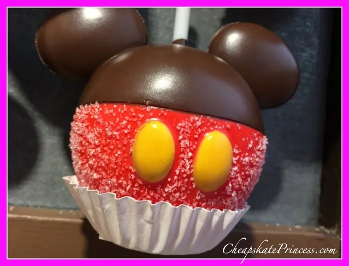 Disney World chocopahe apple fridge magnet