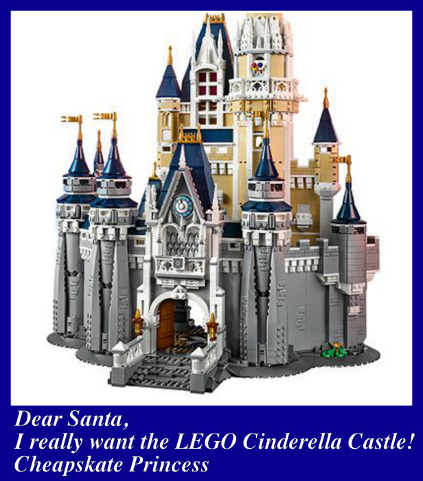 I want the Disney Cinderella Castle