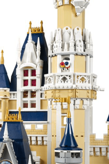 build the Lego Disney World Castle