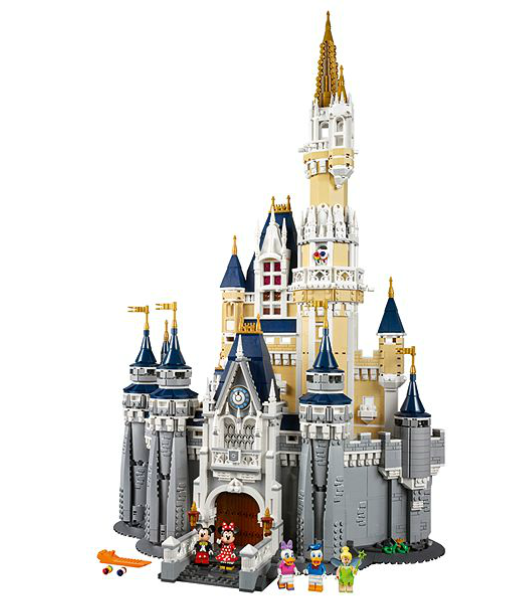 purchase the Lego Disney Castle