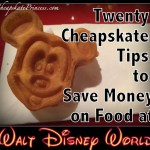 20 Cheapskate Tips to Save Money on Food at Disney World