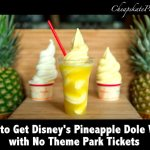 Pineapple Dole Whip at the Polynesian Resort